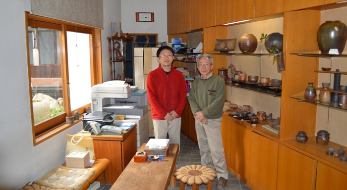 17th generation Bizen potters