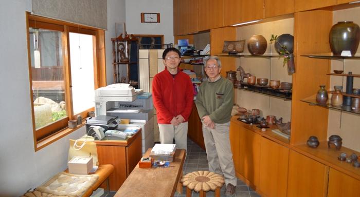 17th generation Bizen potters